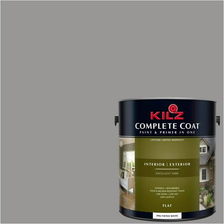 Lavender Grey (KILZ COMPLETE COAT Interior/Exterior Paint & Primer in One #RL130 Lavender)