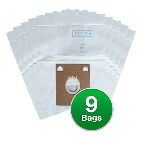Replacement Vacuum Bags for Eureka 52358A-6 / 52358AA Type-Micro (3 Pack)