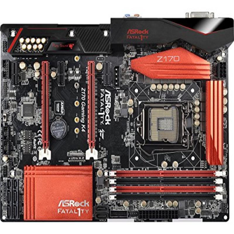 ASRock ATX DDR4 Motherboards FATAL1TY Z170 GAMING K4
