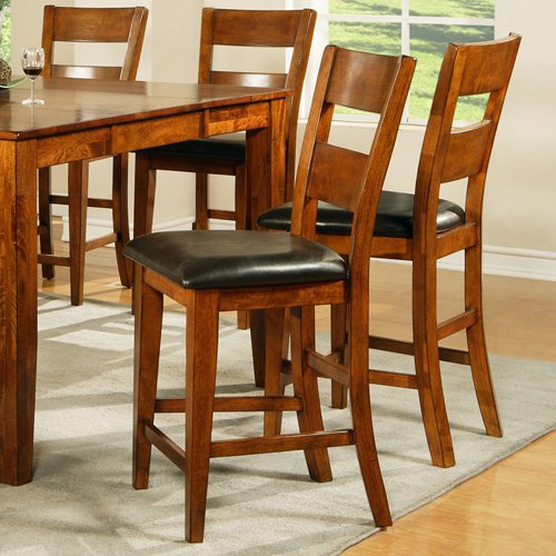 Steve Silver Mango Counter Height Dining Chairs   Light Oak   Set Of 2