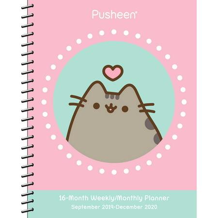 Pusheen 2019-2020 Weekly/Monthly Planner Calendar](Pusheen Nurse)