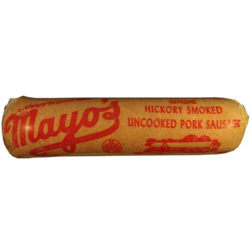 Mayo's Hickory Smoked Uncooked Pork Sausage, 2 lb