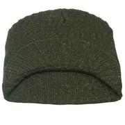Gold Medal Boys Green Rib Stitch Pattern Brimmed Cap Hat