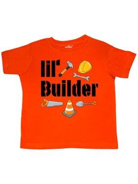 Lil Builder- future construction worker Toddler T-Shirt