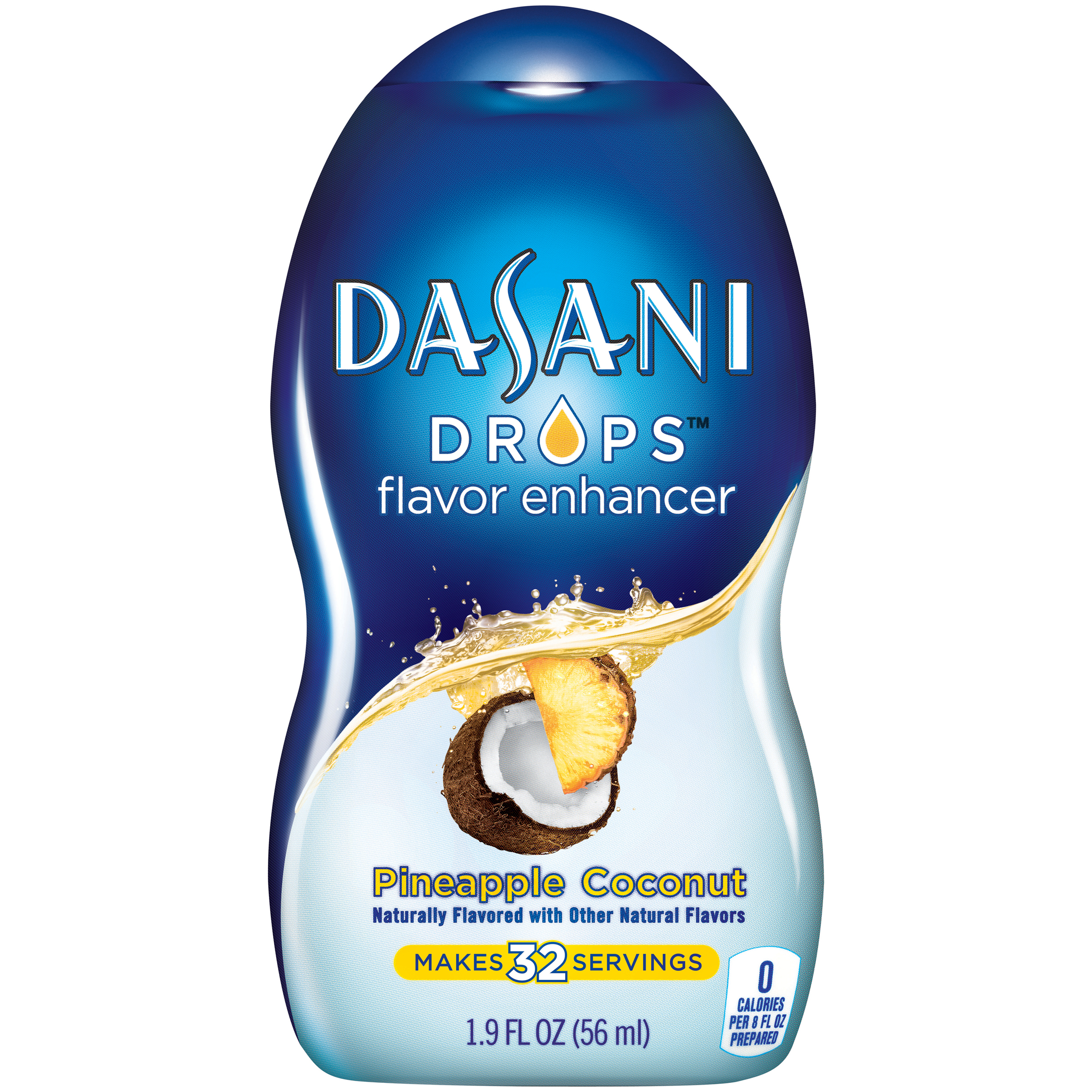 Dasani Drops Flavor Enhancer, Pineapple Coconut, 1.9 fl oz