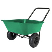 Marastar Marathon Industries Outdoor Heavy Duty Gardening Lawn Cart, Green