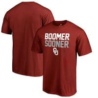 Oklahoma Sooners Fanatics Branded Hometown Collection Boomer Sooner T-Shirt - Crimson