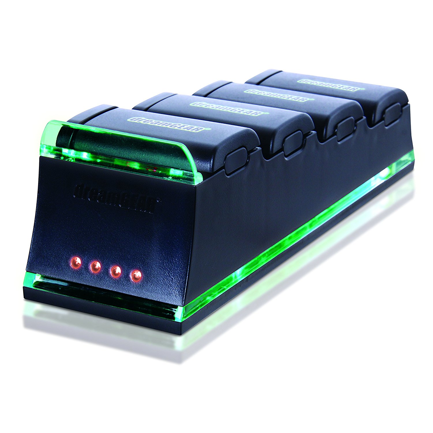 Dreamgear Xbox 360 Quad Dock Pro. Charge up to four Xbox ...