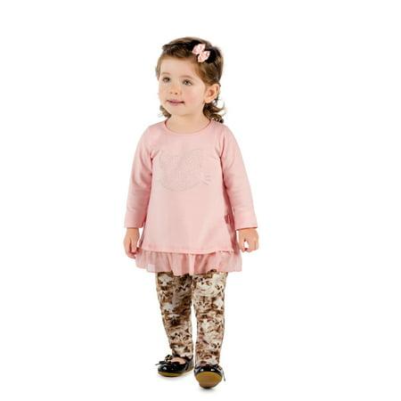 32f595f89 Pulla Bulla - Pulla Bulla Baby Girl Long Sleeve Shirt Kitty Graphic Tee ...