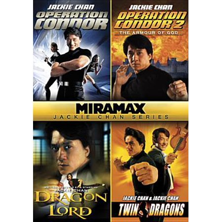 Miramax Jackie Chan Series: Operation Condor / Operation Condor 2: The Armour of the Gods / Dragon Lord / Twin