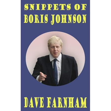 Snippets of Boris Johnson - eBook (Boris Johnson Halloween)