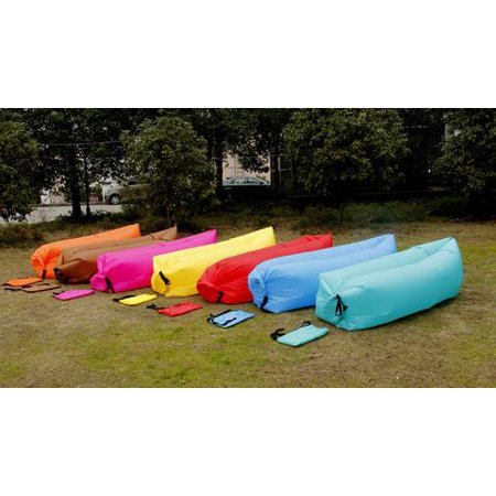 Fast Inflatable Air Bag Sofa Outdoor Beach Camping Sleeping Lazy Bed