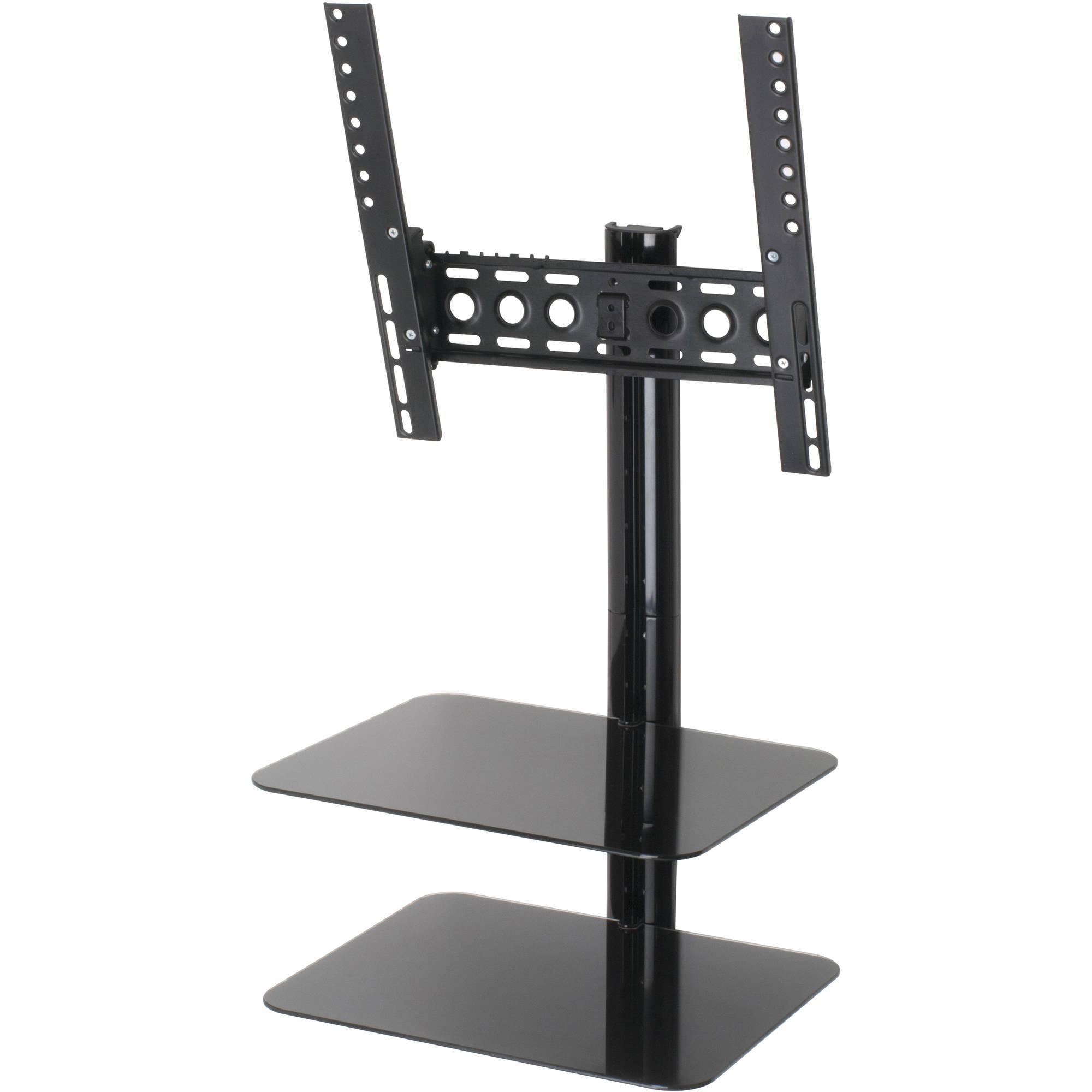 """AVF ESL422B-T Tilt and Turn Flat Panel TV Mount with AV Shelving for TVs up to 47"""""""