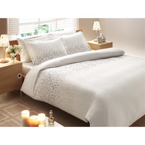 Brielle Rayon from Bamboo Twill Cascade 3-piece Down Alternative Comforter Set King
