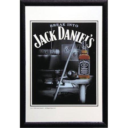 Jack Daniels Pool (Jack Daniels - Bar Mirror / Decor Mirror (Snooker /)
