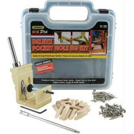 General Tools 850 Ez Pro Deluxe Pocket Hole Jig Kit