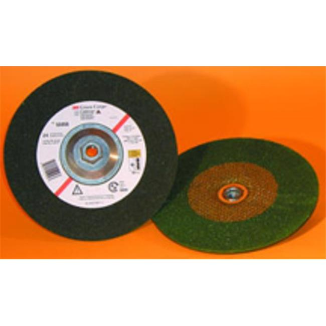 3M 103159612 55961 36 Grit Flex Grinding Wheel - 4.5 x 0.25 x 0.62-11 in. - image 1 of 1
