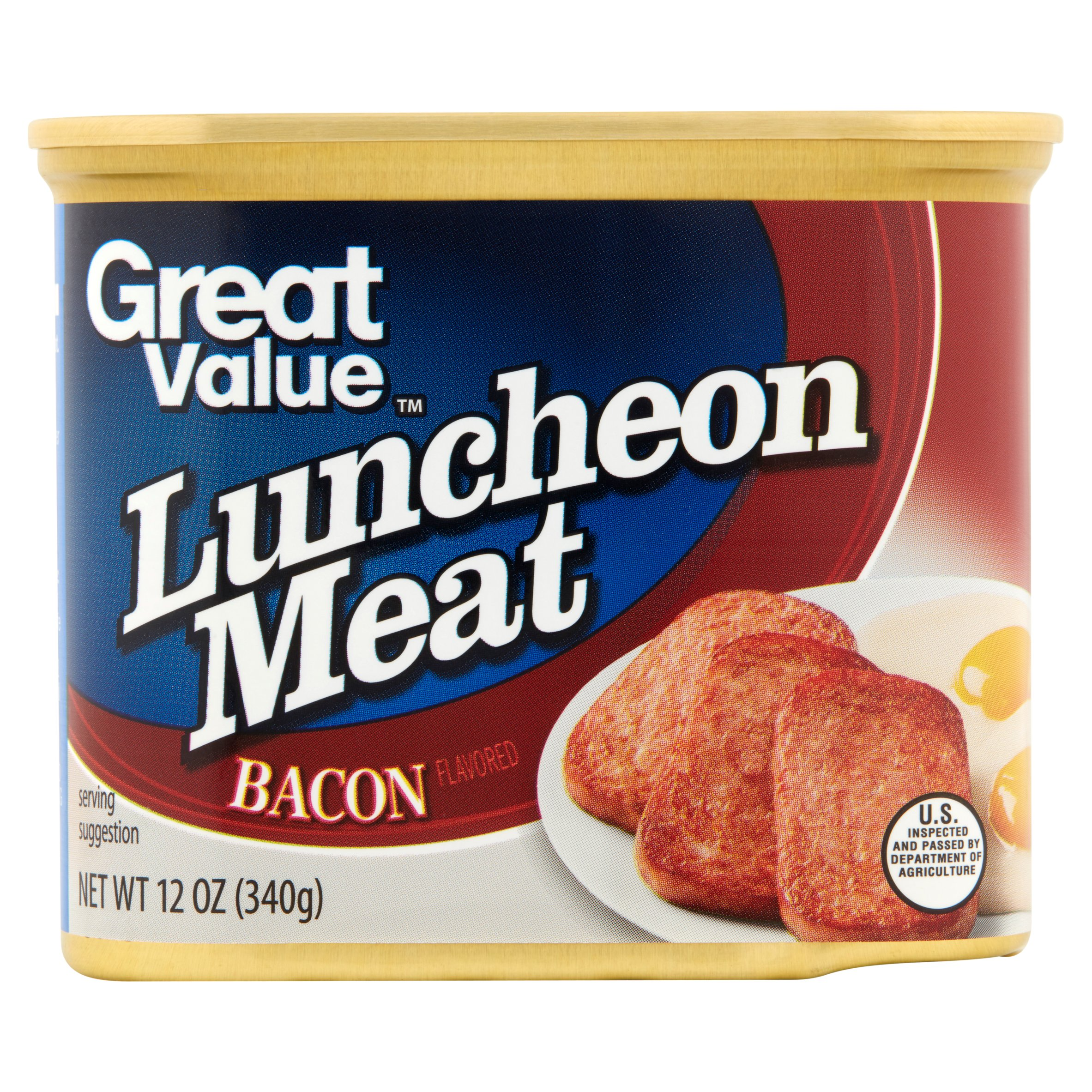 Great Value Luncheon Meat, Bacon, 12 oz by Wal-Mart Stores, Inc.