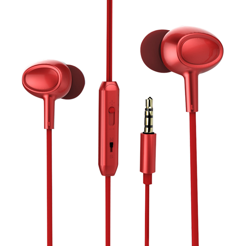Hight Quality 3.5mm In ear Stereo Headphone Headset Super Bass Music Earphone Earbuds
