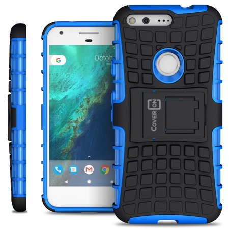 CoverON Google Pixel Case, Atomic Series Slim Protective Kickstand Phone Cover