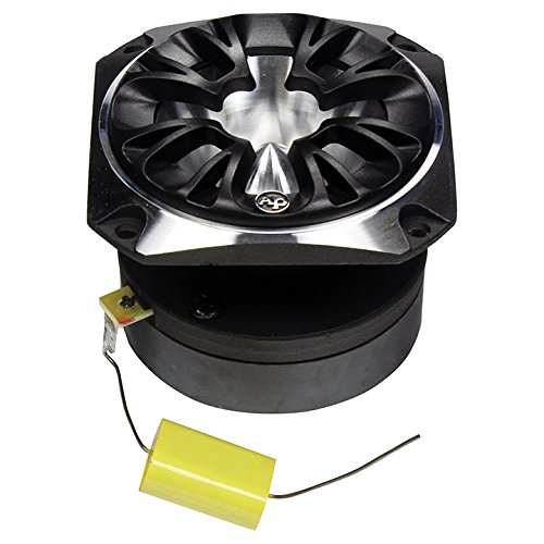 Audiopipe ATR3233C Bullet Tweeter 350 Watts 4 Ohm Silver With Grill