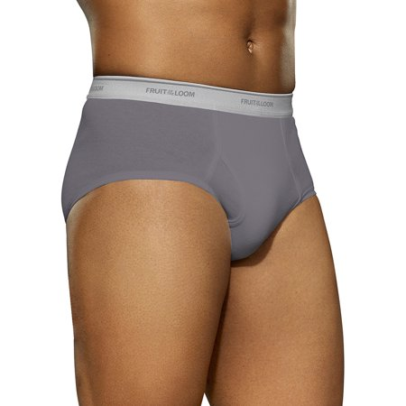 Fruit of the Loom Men's Assorted Color Fashion Briefs, 6-Pack