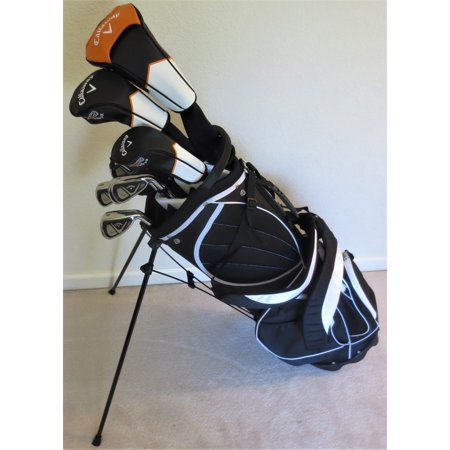 callaway golf mens complete golf clubs set driver fairway. Black Bedroom Furniture Sets. Home Design Ideas