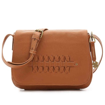 Lucky Brand Kingston Leather Crossbody Bag In (Best Shisha Tobacco Brand)