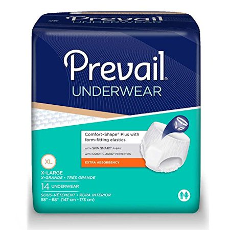 Prevail Underwear, Extra Absorbency, X-Large, Case/56 (4/14s) - image 1 of 1