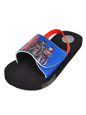 0d733885cfc8a Product Image Justice League Boys  Sandals (Sizes 5 ...