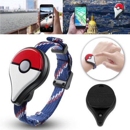 Nike Plus Watch (Led Hot Pokemon Nintendo Go Plus Bluetooth Wristband Bracelet Watch Accessory)