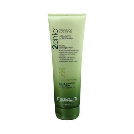 Giovanni Hair Care Products 1179399 2Chic Avocado & Olive Oil Conditioner, 8. 5