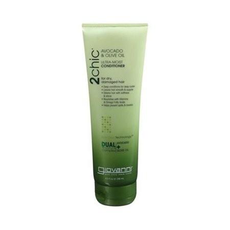 Giovanni Hair Care Products 1179399 2Chic Avocado & Olive Oil Conditioner, 8. 5 (Olive Oil Hair Care)