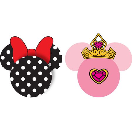 Disney Minnie Polka Dots Princess Crown Antenna Toppers [2 Pack]