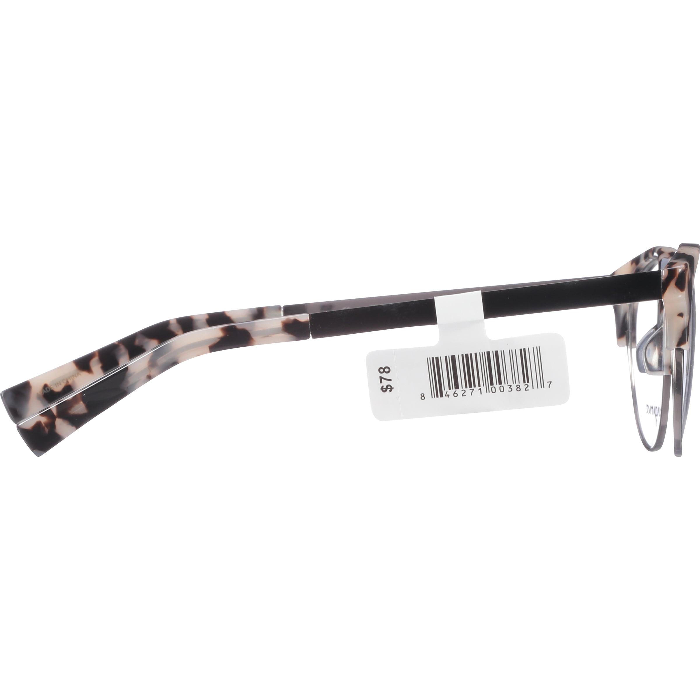 Georgina Eyewear Rx-able Eyeglass Frames 705 Gun Tortoise - Walmart.com