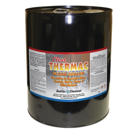 Clear Thermac Acrylic Wet Look Concrete Sealer - 5 gallon