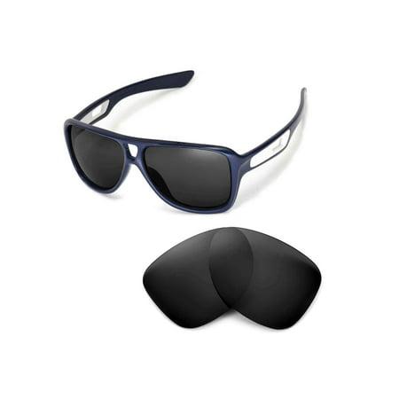 Walleva Black Polarized Replacement Lenses for Oakley Dispatch II (Dispatch 2 Oakleys)