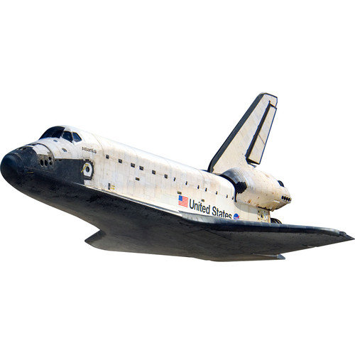 4 Walls Space Shuttle In Flight Wall Decal