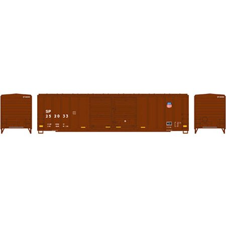 Athearn Ho Scale 50 Fmc Double Door Box Car Union Pacific Up Sp Repaint  252033