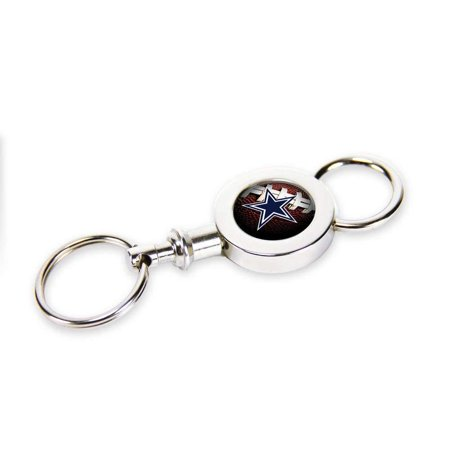 Dallas Quick Release Valet Key Chain, Officially licensed merchandise By Rico Industries