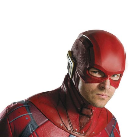 Adult The Flash Overhead Latex Mask Halloween Costume Accessory - Flash Mask