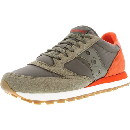 buy online 499c3 ab600 Saucony Men's Jazz Original Olive / Cherry Ankle-High Leather Running Shoe  - 8.5M