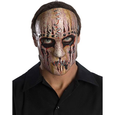 Morris Costumes Slipknot Joey Adult Halloween Latex Mask Accessory
