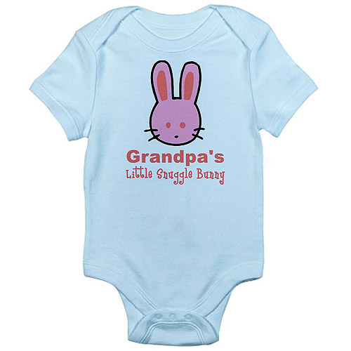 CafePress Newborn Baby Grandpa's Snuggle Bunny Bodysuit