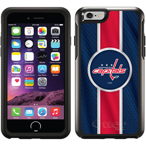 Washington Capitals Jersey Stripe Design on OtterBox Symmetry Series Case for Apple iPhone 6