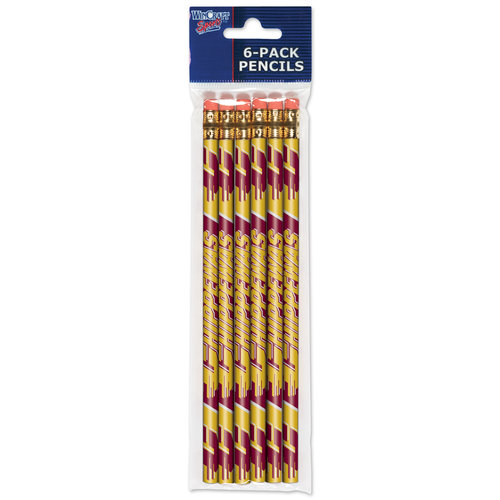 American Logo Products Central Michigan Chippewas Pencils, 6 Pack