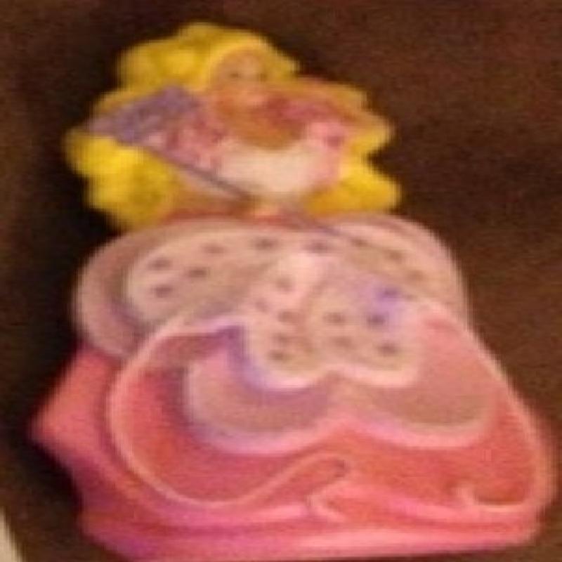 Mcdonalds 1990 Barbie Costume Ball #2 Mattel by