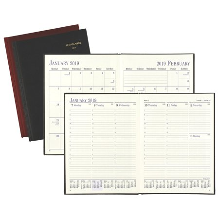 Appointment Diary (At-A-Glance Fine Diary Weekly-Monthly Appointment Book - Weekly Journals & )