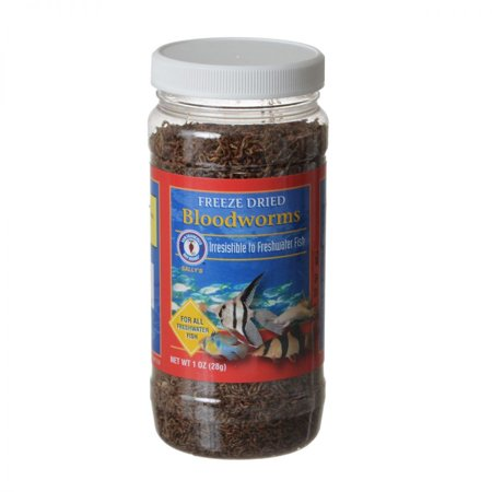 San Francisco Bay Brand Freeze Dried Bloodworms - 1 oz / 28 Grams