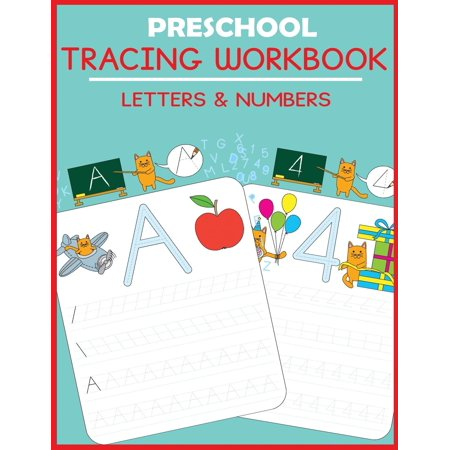 Preschool Tracing Workbook : Letters and - Preschool Halloween Coloring Pages To Print